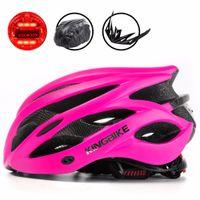 BATFOX Woman MTB Cycling Helmet Pink Mountain Road Bike Helmets Integrally-Molded Bicycle Helmet Light Capacete Ciclismo Helmets