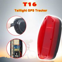 ingrosso batteria gps gps-Waterproof Bike GPS Tracker T16 5200mAh batteria ricaricabile tempo standby incorporato GPS / GSM Antenna