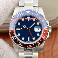 Wholesale best automatic sports watch for sale - Group buy 6 Style Best Quality EW Maker mm GMT Batman World Pepsi Basel Ceramic Top CAL Automatic Mens Watch Watches
