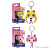 Wholesale GS Good present low price Discout Funko Pocket POP Keychain smalllady Vinyl Figure Keyring with Box Toy Gift Good Quality