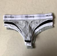 calcinha de cordas triangulares venda por atacado-ROSA Letra Lingerie Mulheres Calcinhas Amantes Sexy Underwear Mulheres Cuecas Boxer Cuecas Triângulo Tanga Corda Lingerie Sexy