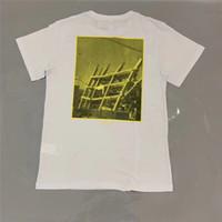 geometri gömlek kadınları toptan satış-Mimari geometri boyama Tee Erkekler Kadınlar 1f: 1 Yüksek Kalite T-shirt Moda Rahat Tişörtleri