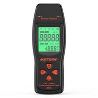 detector de radiação digital venda por atacado-B Emf Medidor Handheld Mini Digital Radiação Dosímetro Lcd Detector Emf Detector de Radiação de Campo Eletromagnético Dosímetro Tester T8190619