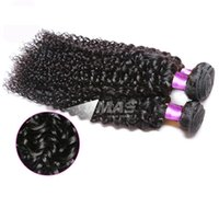 Wholesale brazilian curly real hair extensions resale online - Brazilian Kinky Curly Virgin Hair Extension Bundles Human Unprocessed Silky Hair Weaves real human virgin hair extensions