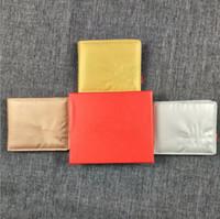 красные кожаные подарочные коробки оптовых-Высокой Puality Sup Wallet Плед Pattern Женщины Красный Кожаный Бумажник мужские Pure High-End Бренд Дизайнерские Кошельки Подарки Для Мужчин БЕЗ КОРОБКИ