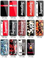 ben mavi telefon toptan satış-YENI Kaplan Boyalı Marka Mavi Ray Temperli Cam Ben Telefon Kılıfı TPU Arka Kapak IPhoneX 7/8 P 7/8 6 s P IPhone 6/6 s 14 tasarımlar Mevcut