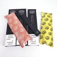Wholesale popular pens resale online - Popular Puff Glow Disposable Vape Pen ml Starter Kits LED Device Pods mAh Battery Vaporizer E Cigarettes Puff Plus Bars Stick