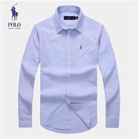 mujeres profesionales camisas largas al por mayor-2019 hombres y mujeres de otoño camisa a cuadros estampada 01 af camisa de manga larga y corta de Corea del Sur de la moda profesional Blusa + Tamaño