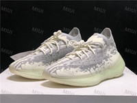 Wholesale runing sneakers resale online - V3 Sneakers Alien FV3260 Black White Antlia Lundmark Synth Runing Shoes Kanye M Reflective Luxury Designer Sports Shoes