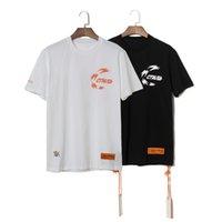 moda tişört kadın sokak toptan satış-Erkek tasarımcı tshirt trend marka moda tişörtleri Heron Preston rahat rahat t-shirt baskı yüksek kaliteli t-shirt erkek kadın sokak t ...