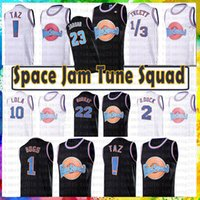 basketball-film groihandel-Jugend Herren LeBron James 23 23 Michael 1 Bugs Film Space Jam Tune Squad Jersey 22 Bill Murray 10 Lola D.DUCK! Taz 1/3 Tweety Jordan