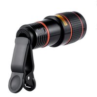 Wholesale universal optical zoom telescope for sale - Group buy 300set Universal X ZOOM Optical Times Zoom Mobile Phone Telescope Camera clip LENS For iPhone Samgsung S8