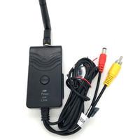 transmissor sem fio fpv venda por atacado-903W FPV WiFi sem fio Car Video Camera Retrovisor WIFI Transmissor câmera de segurança Monitor para Smartphone Android AV Interfac carro DVR