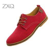 marka tuval dantel ayakkabıları toptan satış-YENI 2019 Bahar Rahat Erkekler Ayakkabı Şeker Renk Marka Tasarımcı Dantel Kadar Tuval Hafif Nefes Erkek Ayakkabı Damla Nakliye