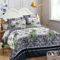 Wholesale floral print comforter sets for sale - Group buy MENGZIQI D Rose Bedding Sets Fashion Bed Comforters Sets King Size Bedding Sets Four Piece Suit Bedspread And Quilt Set For Home Textile