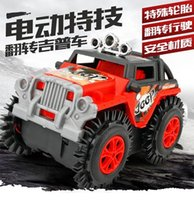 promoções jeep venda por atacado-Transfronteiriça oferta especial para brinquedos infantis, acrobacias cross-country, caminhões basculantes, carros elétricos, comércio exterior bancas do mercado noite