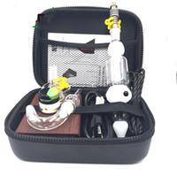 ingrosso bobina mini riscaldatore-Mini Nectar Collector Enail Kit Coil Heater per controllo temperatura cera Funzione vaporizzatore E kit per unghie DHL Free