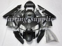 Wholesale matte black fairings resale online - New Injection molding ABS Fairing Kits Fit For Honda CBR600 FS F4i Fairings set Matte Black