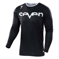 Wholesale seven t shirt for sale – custom 2019 New style Seven bicycle downhill jersey long sleeve Breathable sport mountain racing motocross motorcy jersey MX T shirt