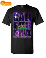 Wholesale clothes california for sale - Group buy Summer Style Fashion California Republic Galaxy T shirt California Shirts High Quality Casual Clothing