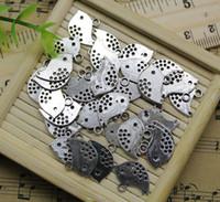 Wholesale 12x16mm pendant resale online - Birds Alloy Charms Pendant Retro Jewelry Making DIY Keychain Ancient Silver Pendant For Bracelet Earrings x16mm