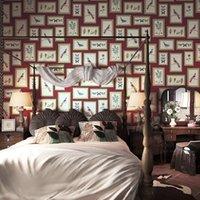 loja de roupas de escritório venda por atacado-3D arte da flor quadro pássaro da foto da imagem do papel de parede PVC impermeável Sala paredes loja de roupa quarto de escritório papel de Parede