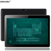 android tablette gps unterstützung großhandel-10,1 Zoll 3G Telefonanruf Tablet PC Android 8.1 Wi-Fi Bluetooth 4 GB / 64 GB Octa Core 1,5 GHz Dual-SIM-Unterstützung GPS PC (schwarz)