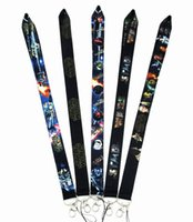Wholesale cell phone neck chain lanyard resale online - New Cartoon Star Wars Lanyard Neck Strap Cell Phone Rope Lanyards Lanyards key chain K0056