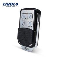 interruptor remoto livolo al por mayor-Accesorios del interruptor de luz de pared Livolo, mini control remoto RF, controlador de interruptor remoto de luz de pared, caja de cartón pequeña