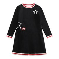 seide weihnachten großhandel-Cardigan-Mädchen-Kinder Pullover Kleid Teens Strickwaren Kinder Pullover Strickpullover Outfits Pullover Weihnachtskleidung 3-14