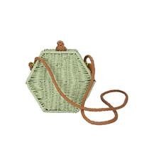 gestrickte luxustaschen großhandel-MINI seitentaschen für frauen Straw Stricken strandtasche damen handtasche luxus handtaschen frauen taschen designer day handbag sac a main