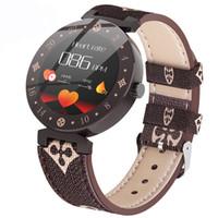 mujer reloj gps tracker al por mayor-Reloj inteligente R98 Fitness Tracker Presión arterial Impermeable Banda inteligente Frecuencia cardíaca Monitor de sueño Mujer Moda Pulsera inteligente