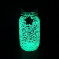 wünschte flaschensterne großhandel-10g Fantastic Star Wishing Flasche Fluoreszierende Partikel Leuchtende Party Helle Farbe Star Wishing Flasche DIY Starry Wish Bottles