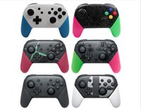 Wholesale For Nintend Switch Pro Controller Bluetooth Wireless Gamepad Game Joystick Host Console Joypad for Nintend Switch Game Console MQ20