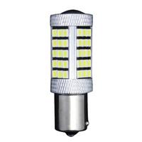 24v led birne ba15s großhandel-2 STÜCKE Super Weiß 63smd High Power 1156 BA15S 2835 Scheinwerfer lampe LED lampen 12-24 v