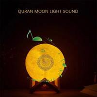 ingrosso imparare il quran-Il trasporto libero del DHL Equantu SQ510 nuovo altoparlante del Quran musulmani impara l'altoparlante della lampada lunare di tocco di Quran per il regalo