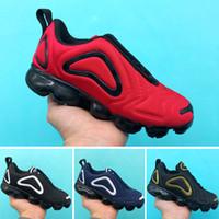 обувь для молодежи оптовых-Nike Air Max 720 2018 Детские сандалии Summer Kids Boys pu First Walker Shoes Детская мода нескользящей обуви