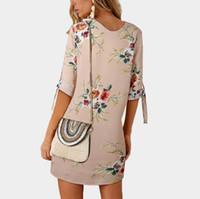 model çiçek üst yaz toptan satış-TOPTAN vestidos elbise mavi çiçek baskı kolsuz plaj uzun Bohemian elbiseler kadın maxi elbise Bayanlar Yaz