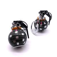 ingrosso souvenir fan-granata portachiavi in lega gioco di ballo GRANATA portachiavi Boogie bomba Portachiavi Accessori bambini giocattoli Fans regalo del ricordo di favore di partito-P