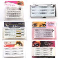 Wholesale eyelash grafting for sale - Group buy Grafting Mink Fake Lashes Eyelash Extensions False Eyelashes Curl Natural Eye Grafting Lashes Makeup Tools LJJR924
