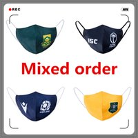 Wholesale order rugby jerseys resale online - Mixed order Cycling Masks Rugby jersey national team Scotland Italy Australia USA New Zealand Rugby jerseys Masks EMS