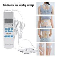 ingrosso massager elettronico completo del corpo-Massaggiatore elettronico portatile di massaggiatore Dispositivo fisioterapico digitale Massaggiatore cervicale Corpo pieno Stimolatore terapia rilassante