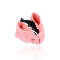 ingrosso archi del tessuto per i capelli-Tessuto Bow Hair Claw Eleganti cravatte in stoffa per donna Banana Hair Crab Clips Coda di cavallo Accessori per ragazza