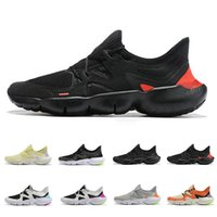 Wholesale mens loafer sneakers resale online - 2019 New Free RN Running Shoes Triple Black Oreo Yellow des chaussures Mens Trainers Womens Designer Sports Sneakers Loafers Size