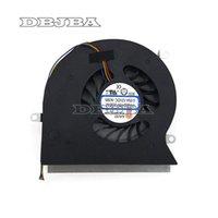 portátil botones al por mayor-Ventilador para portátil MSI GT62VR 6RE 6RD GT62VR 7RE Dominator Pro 16L1 16L2 CPU Fan PABD19735BM-N322 4-Pines
