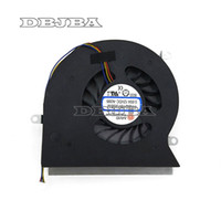 ingrosso perni del computer portatile-Ventola del computer portatile Per MSI GT62VR 6RE 6RD GT62VR 7RE Dominator Pro 16L1 16L2 CPU Fan PABD19735BM-N322 4-Pins