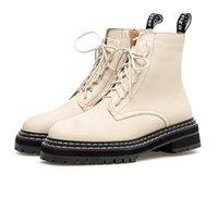bej dantel botları toptan satış-Casual tarz kadınlar moda bej siyah ayak bileği patik kış botları bağlamamda boyutu 35-40