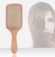 Professional antistatique Coussin dair d/ém/êler les cheveux sains Soin de massage Peigne
