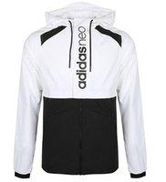mans jacke blaue farbe großhandel-Männer Sport Hoodie Mode Männer und Frauen Casual Jacken MAD374-4109 Farbe: Weiß Blau Größe: S-2XL