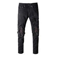 leichte sommerjeans für männer großhandel-Neue Mode Für Männer Einfache Sommer Leichte Designer Jeans Männer Große Größe Casual Luxury Denim Pants Klassische Gerade Denim Designer Jeans